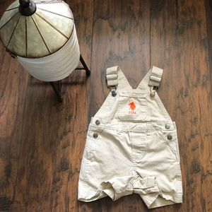 US Polo Association overalls 6-9 months